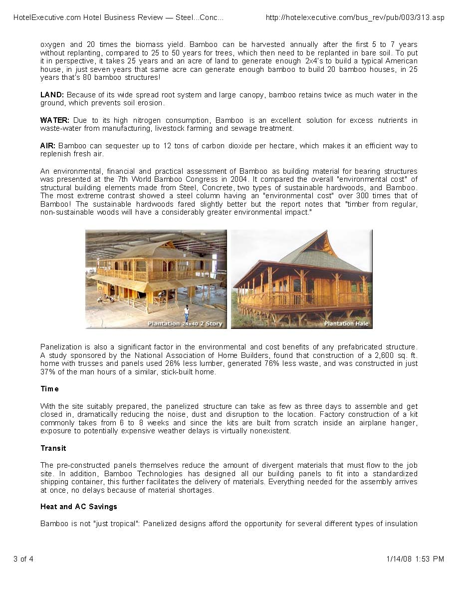 Steel…Concrete…Bamboo? Sustainable Construction With Tropical Style